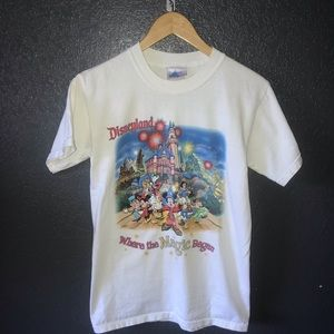 Disneyland Where The Magic Began Graphic T Shirt